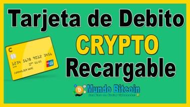 crypterium tarjeta de debito recargable con criptomonedas