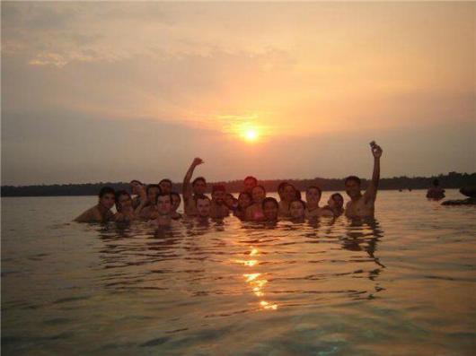Atardecer en Laguna Lachúa. Fotografía de Domenico Esp. - Laguna Lachuá