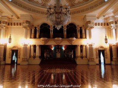 Fotografía de Billy Muñoz. Sala de Recepción del Palacio Nacional.