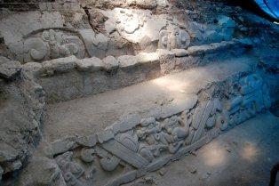 Mural en el Sitio Arqueológico El Mirador. Fotografía de El Mirador