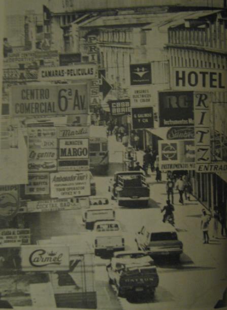 La Sexta Avenida en 1977 foto por Jose L. Lopez G. - Galería de Fotos - La Historia del Paseo de la Sexta Avenida