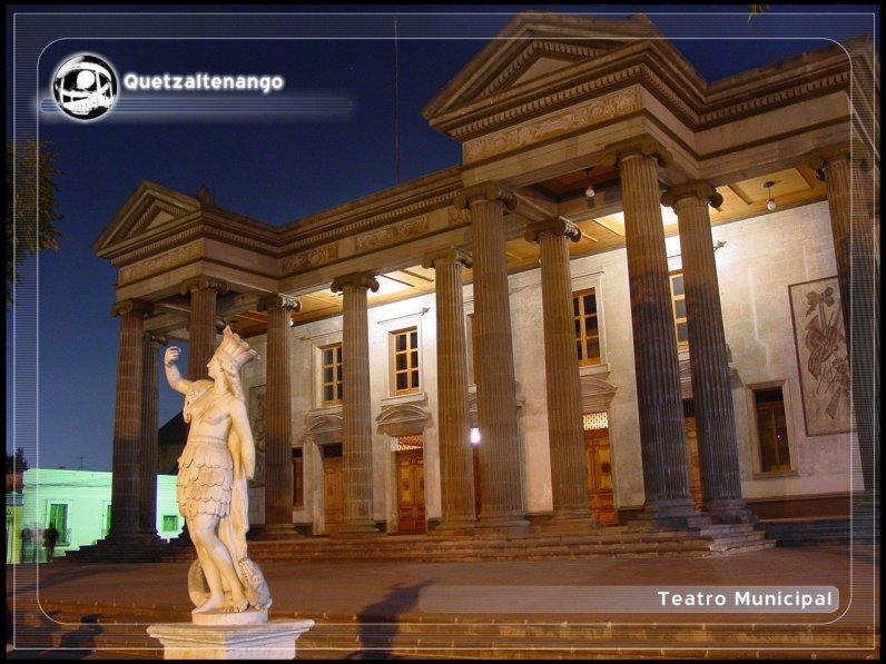 Teatro Municipal de Quetzaltenango. Fotografía de Karlita Chaclán. - El Origen del Teatro Municipal de Quetzaltenango