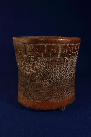 Vaso ceremonial Maya foto por Roberto Alvarez - Galería - Fotos del Arte Maya
