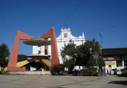 Vista parcial del parque central de Coban foto por Jorge Pelaez - El Origen de Cobán, Ciudad Imperial