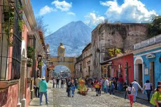 Arco de Santa Catalina Antigua Guatemala 8 foto por David Rojas - Galería  - Fotos de Guatemala por David Rojas