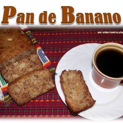 Pan de Banano - foto por Video Recetas Chapinas