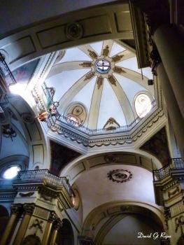 Interior del Templo Santo Domingo foto por David Gt Rojas - Galería - Fotos de Iglesias y Templos en Guatemala