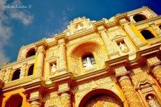 La Merced de la Antigua, arte colonial barroco - foto por Alberto Bolaños