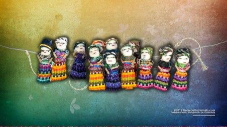 Quitapenitas las muñecas del occidente del país foto por Maynor Marino Mijangos - Galería - Fotos de Artesanías de Guatemala