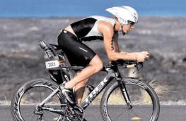 Raúl Tejada sigue mostrando su gran nivel de competencia. Foto Cortesía GNC - Raúl Tejada, triatleta