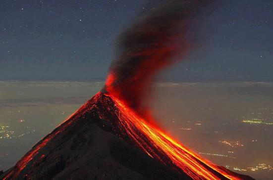 Volcanes 1 volcan de fuego Ricky Lopez Bruni SUPER - Galería  - Fotos de Volcanes en Guatemala