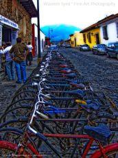 Wassem Sayed Calles de Antigua calles bicicletas - Galería - Fotos de La Antigua Guatemala