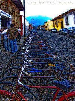 Calles de Antigua Guatemala - foto por Waseem Syed