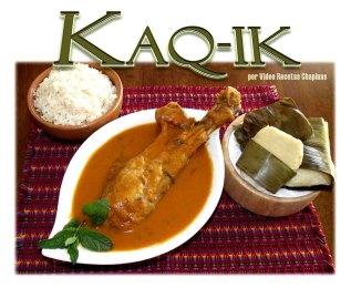comida b8 Kaq ik Video Recetas Chapinas - Galería - Fotos de la Gastronomía Guatemalteca