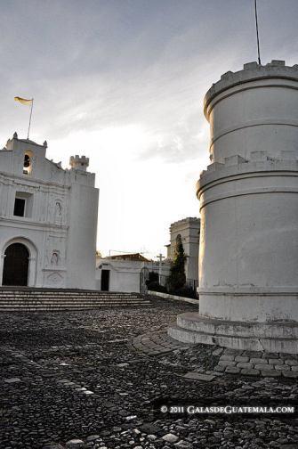 Iglesia y Torreón del Cerrito del Carmen. Fotografía de Maynor Marino Mijangos - El Origen del Cerrito del Carmen, Ciudad de Guatemala