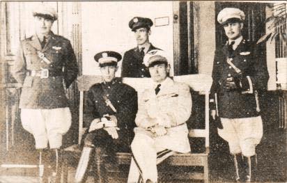 avio pilotos antiguaos - El Origen de la Fuerza Aérea Guatemalteca FAG