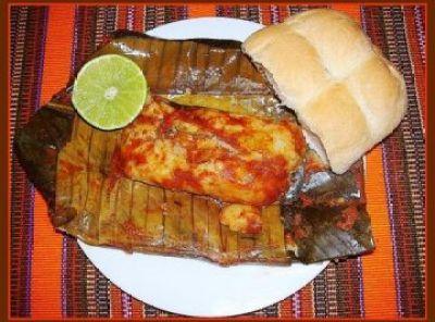 Tamal platillo popular para Navidad en Guatemala foto por taringa.net  - Los Tradicionales Tamales de Noche Buena