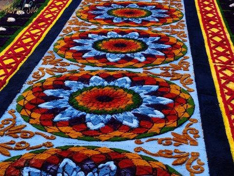 Galer a fotos de las tradicionales alfombras de la for Imagenes de alfombras