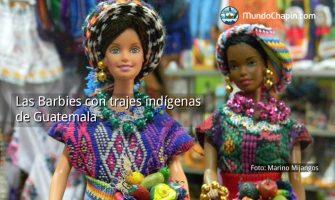 Las Barbies con trajes indígenas de Guatemala