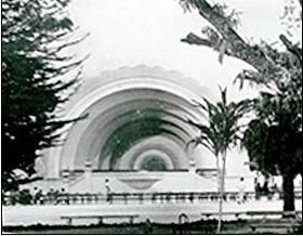 La Concha Acustica del Parque La Aurora 1936 - El Origen de la Concha Acústica
