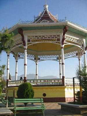san marcos kiosko parque Ignacio - El Origen del Departamento de San Marcos