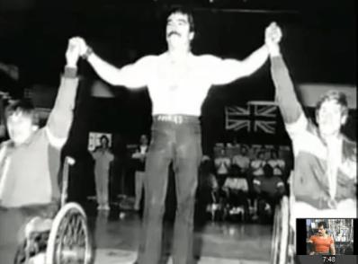 Jose Rolando de Leon, campeon de levantamiento de pesas