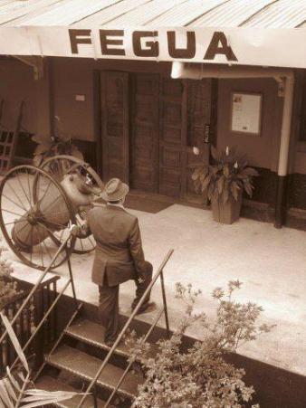 Estacion de la FEGUA foto de Diego Vielman Zuñiga. - Galería – Fotos del Ferrocarril de Antaño en Guatemala