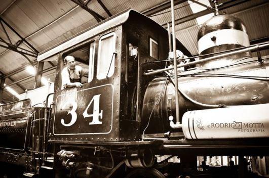 Locomotora en el museo del Ferrocarril en Guatemala foto por Rodrigo Motta - Galería – Fotos del Ferrocarril de Antaño en Guatemala