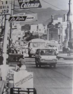 18 Calle Zona 1 alrededor de 1975 foto enviada por Jose L Lopez G - Galería – Fotos de Guatemala de Antaño