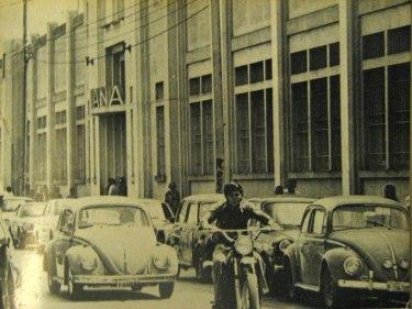Aduana Central Zona 1 1975 foto por Jose L. Lopez G. - Galería – Fotos de Guatemala de Antaño