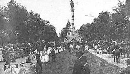Avenida La Reforma foto del recuerdo - Galería – Fotos de Guatemala de Antaño