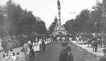 La Avenida la Reforma recuerdos de Guatemala - Galería – Fotos de Guatemala de Antaño