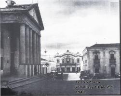 Localidad del Teatro Zarco en 1940 por Jorge Perez - Galería – Fotos de Guatemala de Antaño