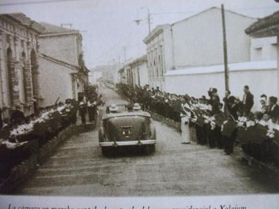 Recuerdos - Quetzaltenango - 1934 Jorge Ubico - foto por Blaymiro Gramajo