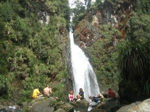 Catarata Rubel Chaim bajo las estrellas en Ram Tzul - Galería - Fotos de Cataratas y Cascadas en Guatemala