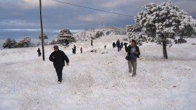 Galería – Fotos de la Nieve en San Marcos, Guatemala, Enero 25, 2013