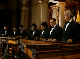 Video Musical – Marimba de Concierto Palacio Nacional Interpretando, Ferrocarril de Los Altos