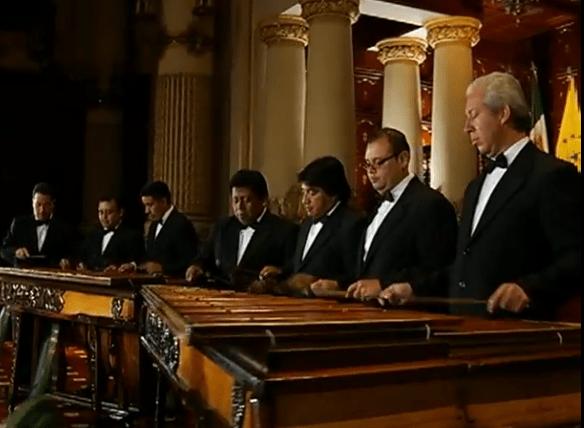 Video Musical – Marimba de Concierto Palacio Nacional Interpretando, Ferrocarril de Los Altos