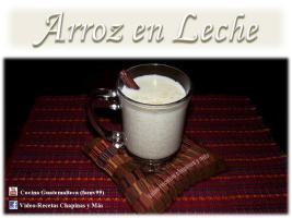 Video Por Recetas Chapinas y Más – Arroz en Leche