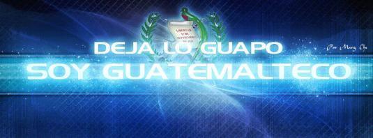 Arte Grafico Deja Lo Guapo Soy Guatemalteco por Marg Che - Galería - Arte Gráfico de Temas de Guatemala
