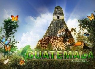 Arte Grafico Peten por Marg Che quien es de Retalhuleu - Galería - Arte Gráfico de Temas de Guatemala