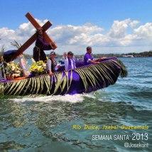 Procesion Riod Dulce Izabal foto por Jose Kont - Galeria - Fotos de La Cuaresma y Semana Santa en Guatemala