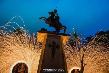 Escultura de Santiago de los Caballeros en Cerro de Cruz Antigua Guatemala foto por Neels Melendez por True Memories - Galería - Fotos de Monumentos, Estatuas y Esculturas en Guatemala
