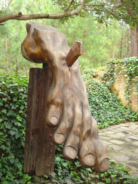 Escultura por Sergio Chávez en Antigua Guatemala foto por Oscar Taracena - Galería - Fotos de Monumentos, Estatuas y Esculturas en Guatemala