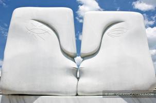 Escultura titulada El Beso Maynor marino Mijangos - Galería - Fotos de Monumentos, Estatuas y Esculturas en Guatemala