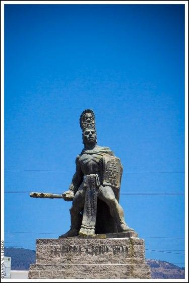 Monumento Tecún Umán Quetzaltenango foto por Tanya X Leonzo Castillo - Galería - Fotos de Monumentos, Estatuas y Esculturas en Guatemala