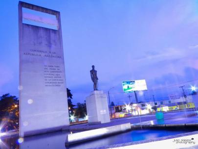 Plaza Argentina Avenida las Americas estatua del General José de San Martín foto por Juan Salazar Photography - Galería - Fotos de Monumentos, Estatuas y Esculturas en Guatemala