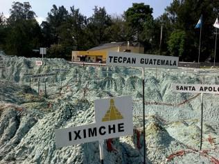 1c - Guía Turística – Mapa en Relieve de Guatemala
