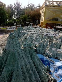 7c - Guía Turística – Mapa en Relieve de Guatemala
