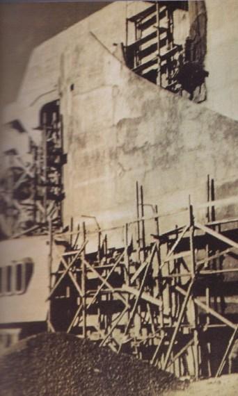 Construcción Teatro Nacional Primera Etapa - La construcción del Teatro Nacional